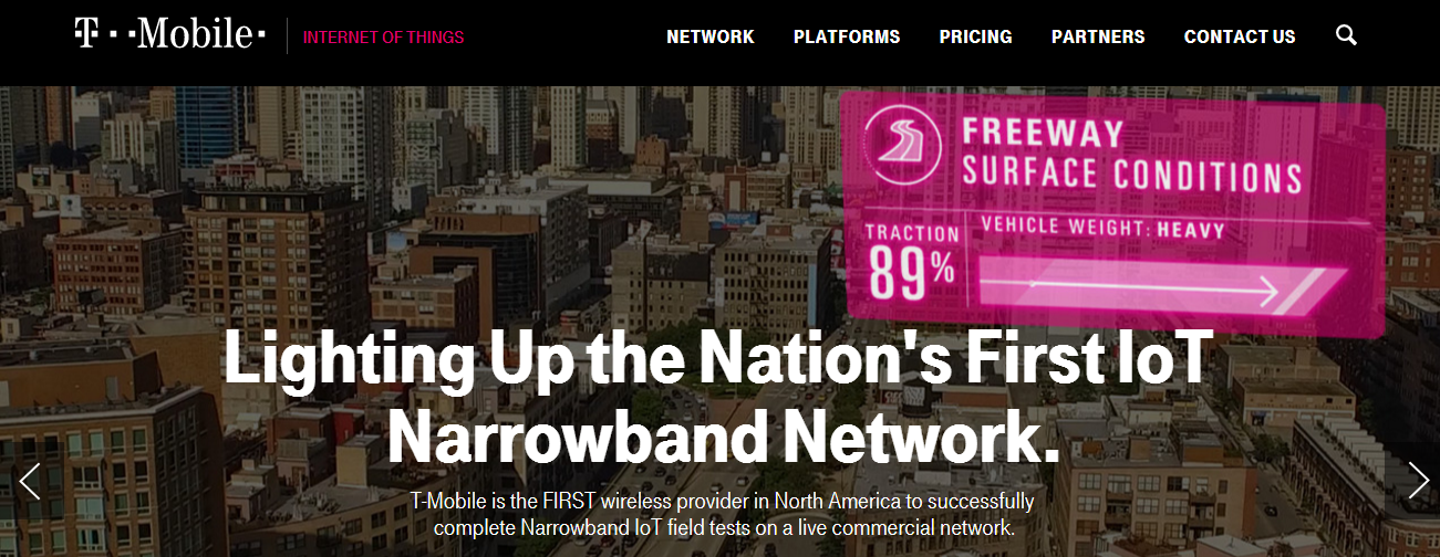 T-Mobile launches US' first narrowband IoT plan